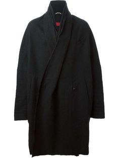 ZIGGY CHEN  -  oversized wrap style coat