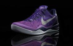 """Nike Kobe 8 """"Purple Platinum""""  Retail $140"""