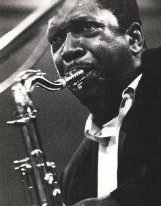 John Coltrane - photograph by Omar Kharem