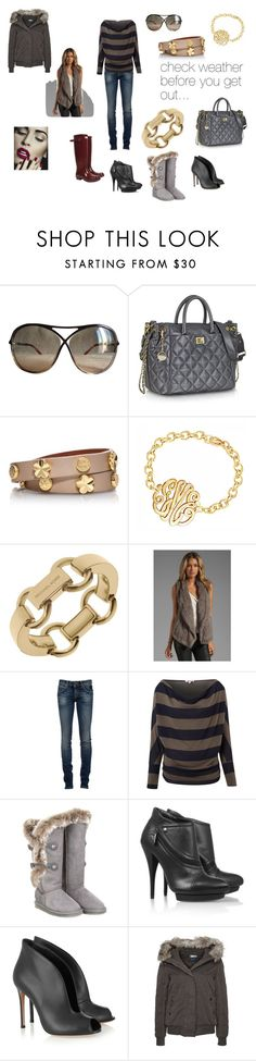 """""""multi options!"""" by mariouko ❤ liked on Polyvore featuring Tom Ford, DKNY, Tory Burch, Michael Kors, June, RoÃ¿ Roger's, WalG, Australia Luxe Collective, McQ by Alexander McQueen and Hunter"""