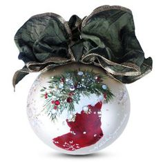 sarabella ornaments | Christmas Stocking Ornament | Natalie Sarabella