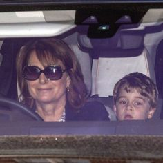 Grandma Carole was pictured doing the school run today as William was at Westminster Abby and Kate was otherwise tied up. Carole was… Kate Middleton Family, Carole Middleton, Prince George Alexander Louis, Prince William And Catherine, Prince Charles, Duchess Kate, Duchess Of Cambridge, Prinz William, The School Run