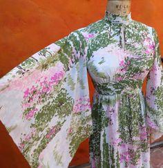 Vintage 1960s Hostess BOHO Ethnic Asian Geisha by SweetPickinsShop, $50.00