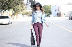 DIVANIDOSA Style : Blue Stripes #UpMyStreet