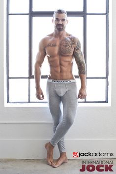 Stay warm and toasty all winter long in comfy long johns by Jack Adams. Wear it on its own or under your regular clothes. Grab one in your size:http://bit.ly/JackAdams