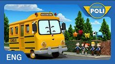 Robocar Poli S1 | #01.Rescue team of Broom's Town - YouTube