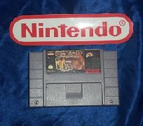 Super Wrestlemania Super Nintendo Game w/FREE SHIPPING