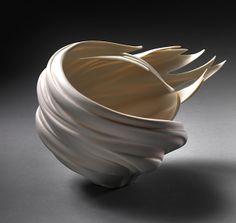 Jennifer McCurdy      American, b. 1955      Wind Bowl      2010 – Porcelain