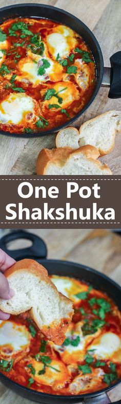 This One Pot Shakshuka is not only delicious, but is also healthy and easy on the wallet.
