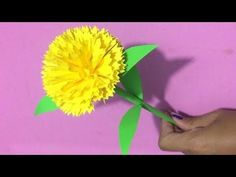 How to Make Heliconia Flower with Color Paper Mexican Paper Flowers, How To Make Paper Flowers, Paper Flowers Craft, Paper Crafts For Kids, Paper Roses, Flower Crafts, Diy Paper, Flower Diy, Flower Making