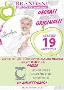 19 aprile con Claudio Menconi.  Cose Casa Giaveno 011 93 78 547