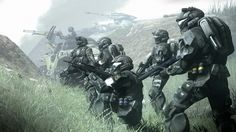 ODST in the field.