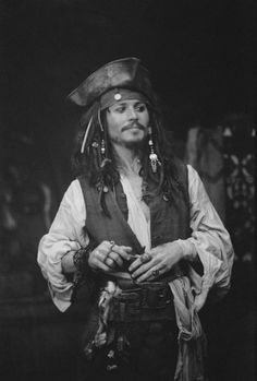 Johnny Depp aka Jack Sparrow ♡