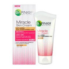 Garnier Miracle Skin Cream Anti-Ageing Skin Transforming Care for Dry Skin SPF 20 Cream For Dry Skin, Skin Care Cream, Skin Cream, Anti Aging Tips, Anti Aging Skin Care, Skin Treatments, Natural Skin, Ageing, Internet