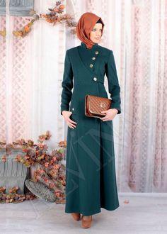 Modest Fashion Hijab, Hijab Style Dress, Street Hijab Fashion, Abaya Fashion, Muslim Women Fashion, Islamic Fashion, Moslem Fashion, Fashion Corner, Modest Wear