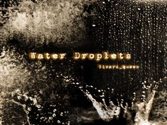 Water Drop 3000*3000 transprent Png Free Download - White, Black, Black And  White . - CleanPNG / KissPNG
