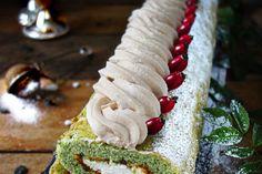 Schwarze Sesam-Tarte mit Kokos-Panna Cotta und Kiwi - Zungenzirkus Cappuccino Torte, Kokos Panna Cotta, Wedding Cakes, Mango, Food Porn, Brunch, Food And Drink, Baking, Sweet