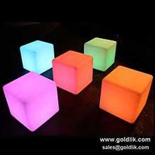 led cube seat lighting,LED Cube Decorations Light,led cube lighting chair http://goldlik.com/LedFurniture-LedCube.html