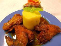 LA VERA  IN BUCATARIE: Aripioare lipicioase Tandoori Chicken, Chicken Wings, Carne, Meat, Ethnic Recipes, Food, Eten, Meals, Diet