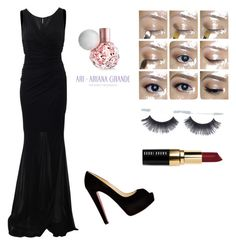 """""""Ariana grande -white house"""" by electraz on Polyvore featuring Blumarine, Christian Louboutin and Bobbi Brown Cosmetics"""