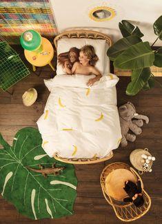 Monstera Leaf Rug design by Lorena Canals Safari Room, Jungle Theme Rooms, Jungle Bedroom, Jungle Nursery, Kids Bedroom, Monkey Bedroom, Jungle Baby Room, Ocean Bedroom, Bedroom Themes