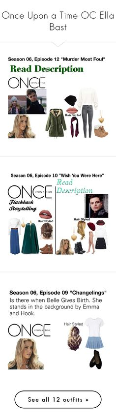 """""""Once Upon a Time OC Ella Bast"""" by leeandbulletfan ❤ liked on Polyvore featuring onceuponatime, onceuponatimeoc, EllaBast, Miss Selfridge, JustFab, SCHA, Once Upon a Time, HUE, Show Me Your Mumu and Rosetta Getty"""