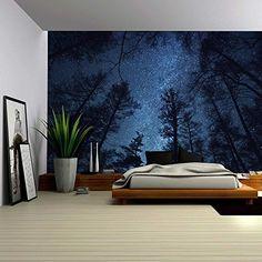 Wall26® - A Gazing View Up Into the Night Starry Sky Surr... https://www.amazon.com/dp/B01BY432LY/ref=cm_sw_r_pi_dp_x_u52QxbKF1KCFX