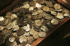 Whydah Treasure - Commanded by the famed pirate Sam Bellamy, the Whydah was wrecked off Wellfleet in 1717, taking with her the treasures of fifty plundered ships.