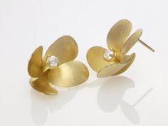 AYESHA STUDIO - Freesia Earrings with stones