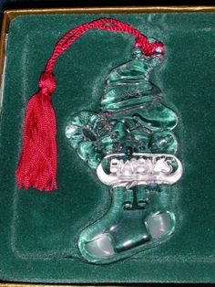 Waterford Marquis Peanuts Collection Woodstock Babys 1st Christmas Ornament  2000 -- Be sure to check out this awesome product.