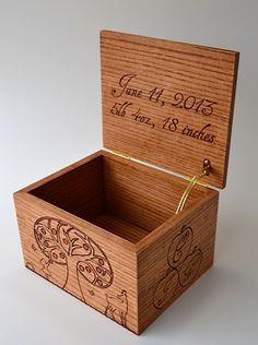 Baby Keepsake Box on Etsy, $250.00