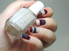 Nailpolis Museum of Nail Art | Striped  nails by Marine Loves Polish