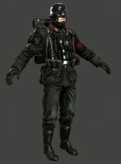 Wolfenstein: The New Order Models