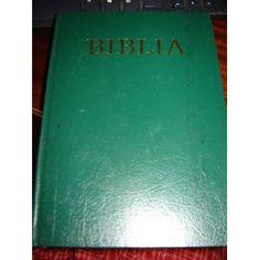 Biblia / Oszovetsegi es Ujszovetsegi Szentiras / Hungarian Family Bible / 1987 / Green Hardcover / 5th edition / Katolikus Biblia (Hardcover) http://www.amazon.com/dp/9633604265/?tag=wwwmoynulinfo-20 9633604265