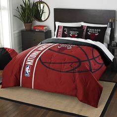 NBA Bulls Basketball Comforter Set