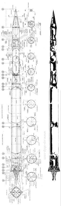 Vanguard 1 Rocket schematic