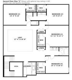 Maronda Homes Chesapeake Floor Plan