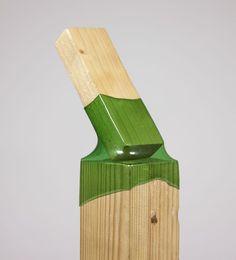 Giunti per legno in plastica. Ecco una idea veramente cool per riciclare le bottiglie e realizzare piccole strutture in legno veramente robuste.