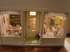 Shabby bakery 1:12 Dec07 by It's a miniature life...is playing with clay, via Flickr