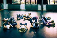 Najmłodsi też dzielnie ćwiczą! fot. Katarzyna Machniewicz