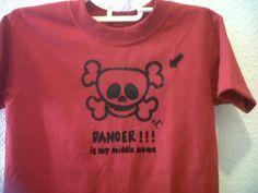 Playera Danger, by jenny