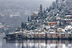 10 Beautiful Mountain Villages in Europe! Switzerland In Winter, Paris Skyline, New York Skyline, Lugano, Mountain Village, European Tour, San Francisco Skyline, Traveling By Yourself, Greece