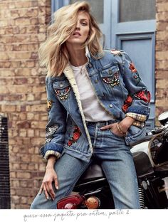 Jeans, sempre: editorial Porter Magazine • Living Gazette