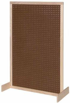 Steffy Wood Products Pegboard Room Divider, http://www.amazon.com/dp/B008FLAAX8/ref=cm_sw_r_pi_awdm_EcKYsb196NEBS
