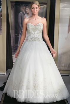 Cinderella. Brides.com: Casablanca Bridal - Fall 2014. Wedding dress by Casablanca Bridal