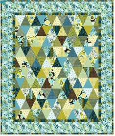 Quilt Inspiration: Free pattern day: Thousand Pyramids quilts!