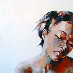 11-19-14 Head, oil on canvas, 90x90cm
