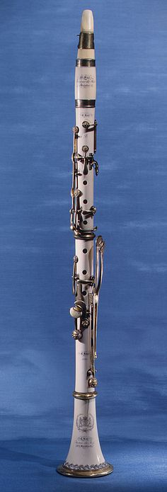 Clarinet made by Charles Joseph Sax (the man who invented the saxophone) from 1830, Brussels, Belgium