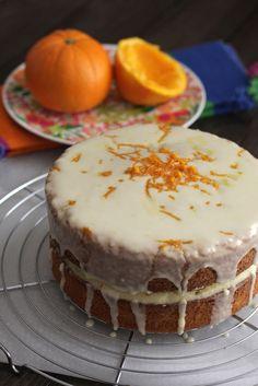 Cake de naranja ¡y ganador del sorteo! :)