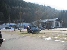 What's left of the General Walker Hotel, Berchtesgaden, Germany